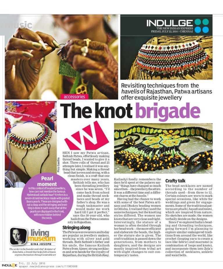 The New Indian Express – Indulge