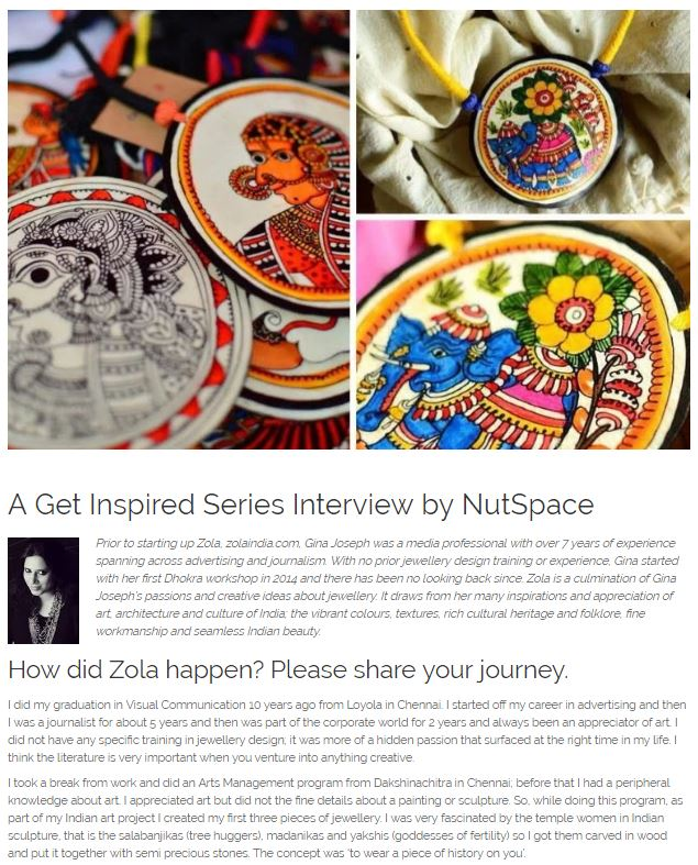 A Get Inspired Series Interview by NutSpace