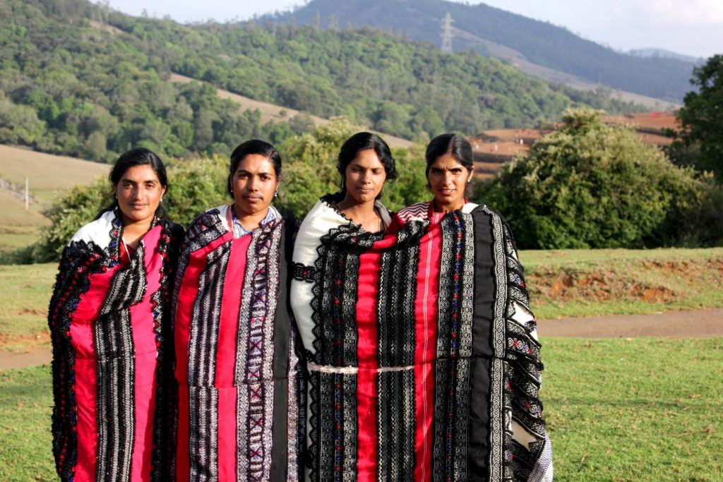 Women of the Toda tribe